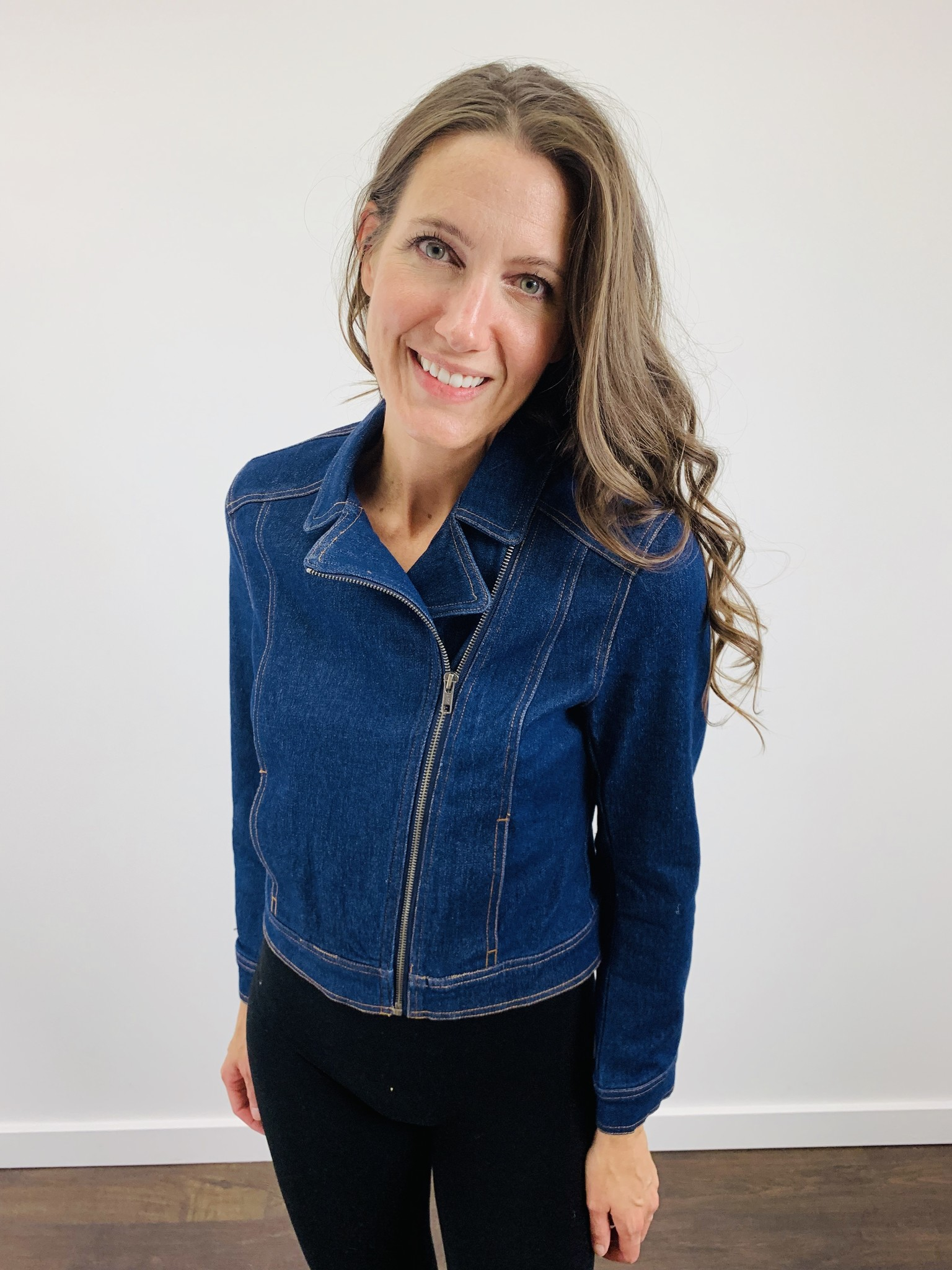 Jack by BB Dakota Denim Zip Jacket