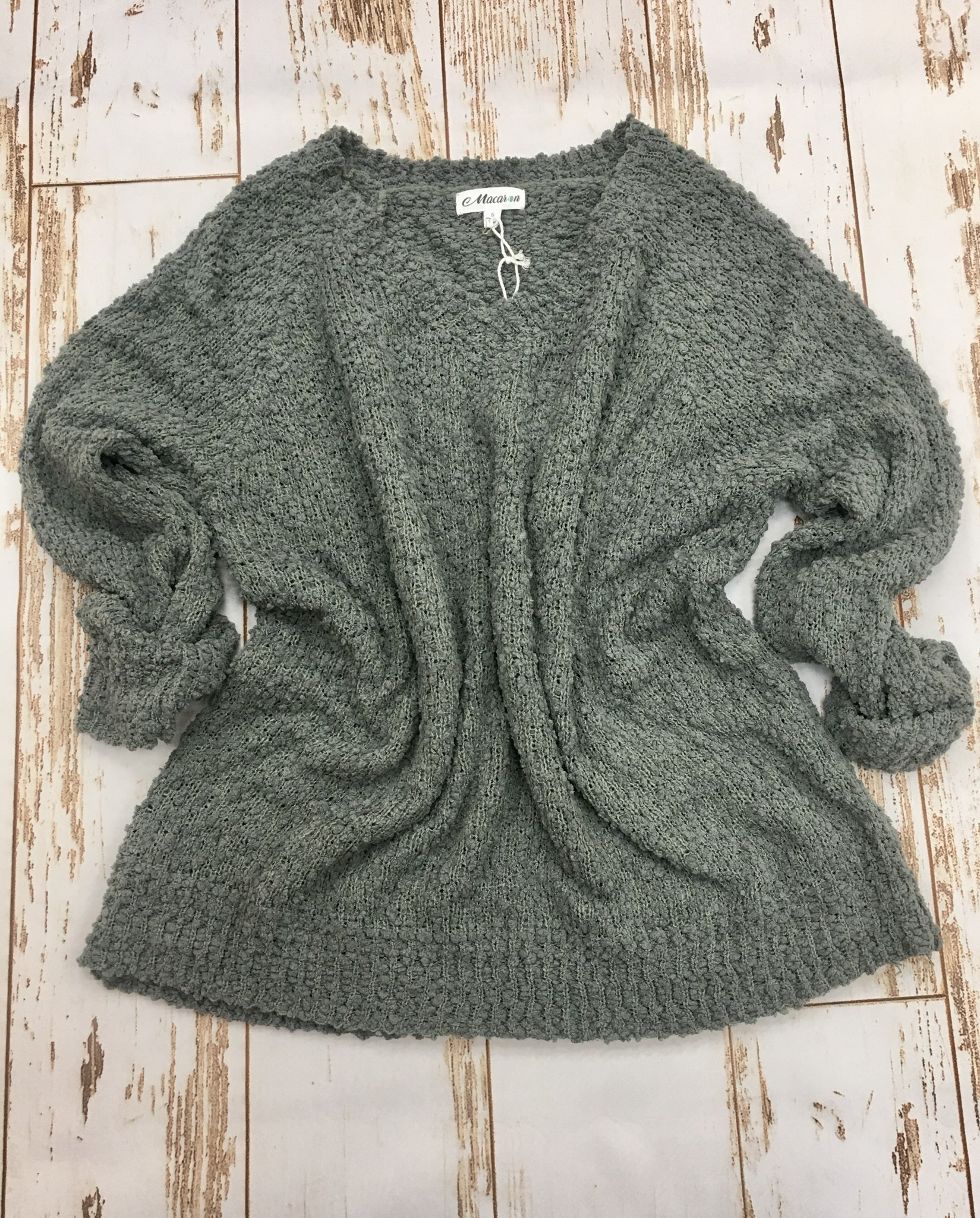 Bibi Cozy Popcorn Sweater
