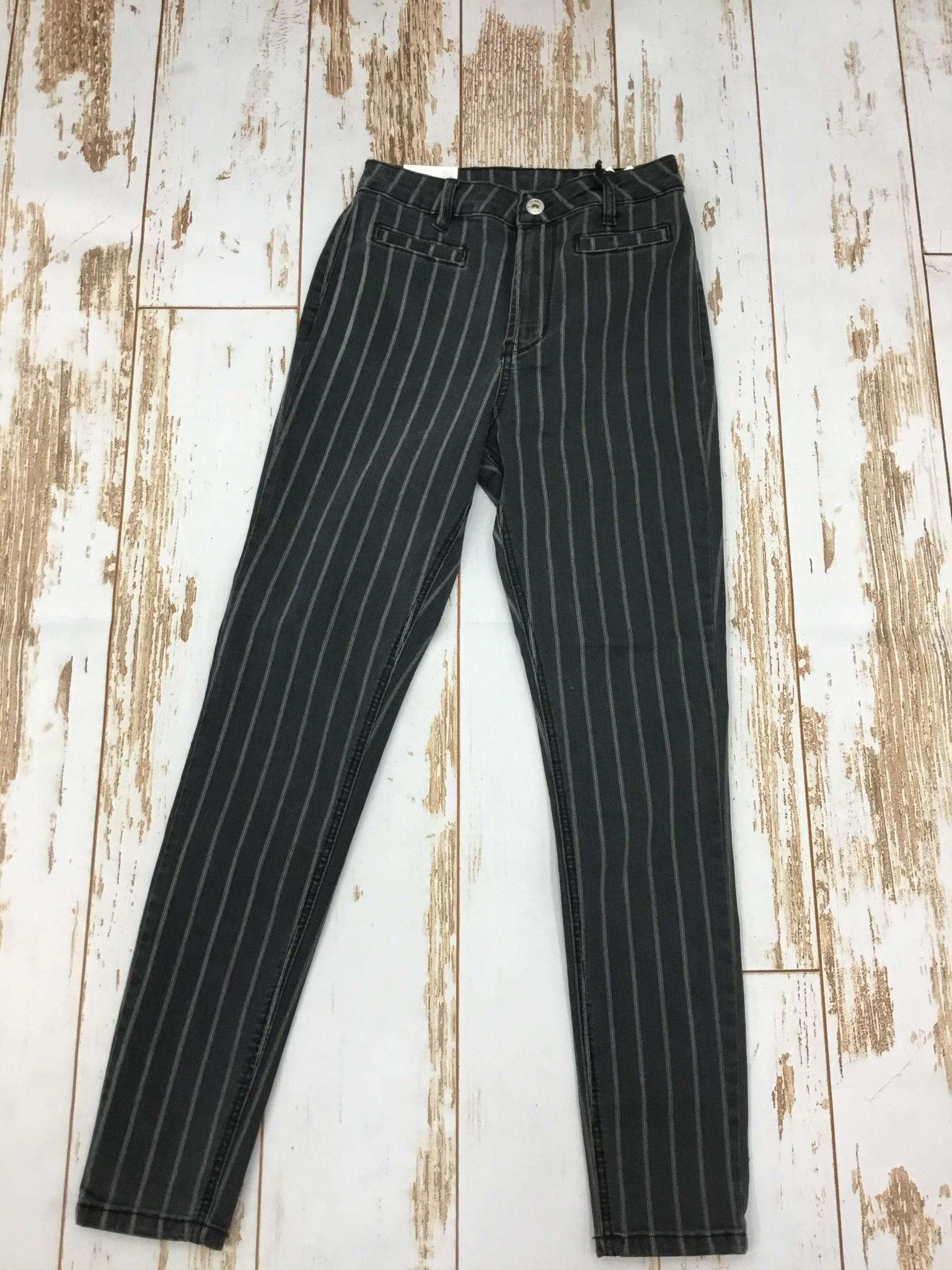 Dex Zoe High Rise in Black Stripe