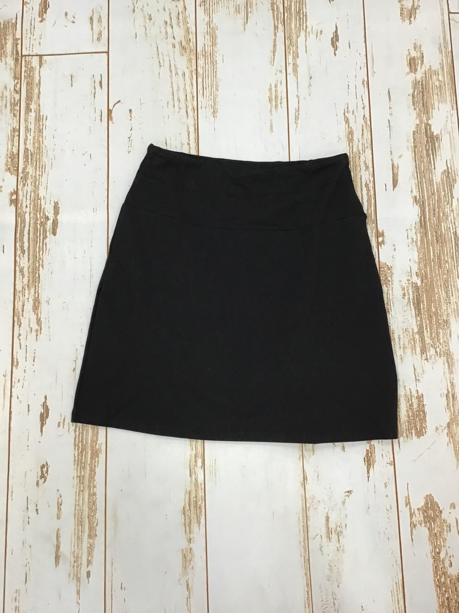 Karissa & Me Cotton Stretch Skort in Black