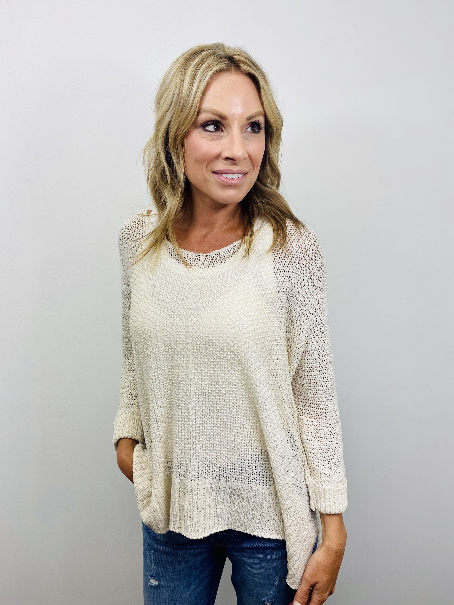KLD Loose Fit Knit Sweater