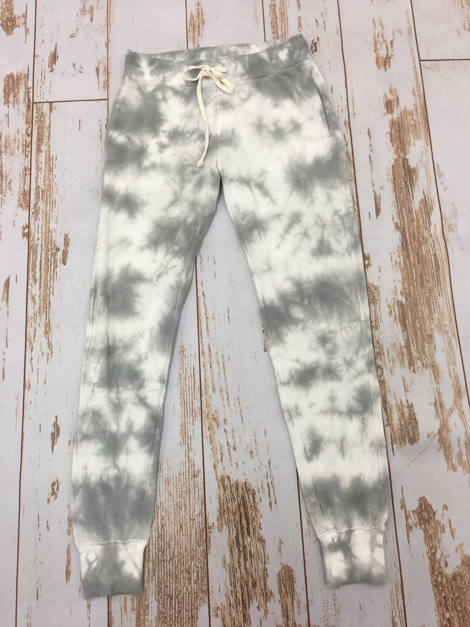 Alternative Terry Jogger Grey Tie Dye