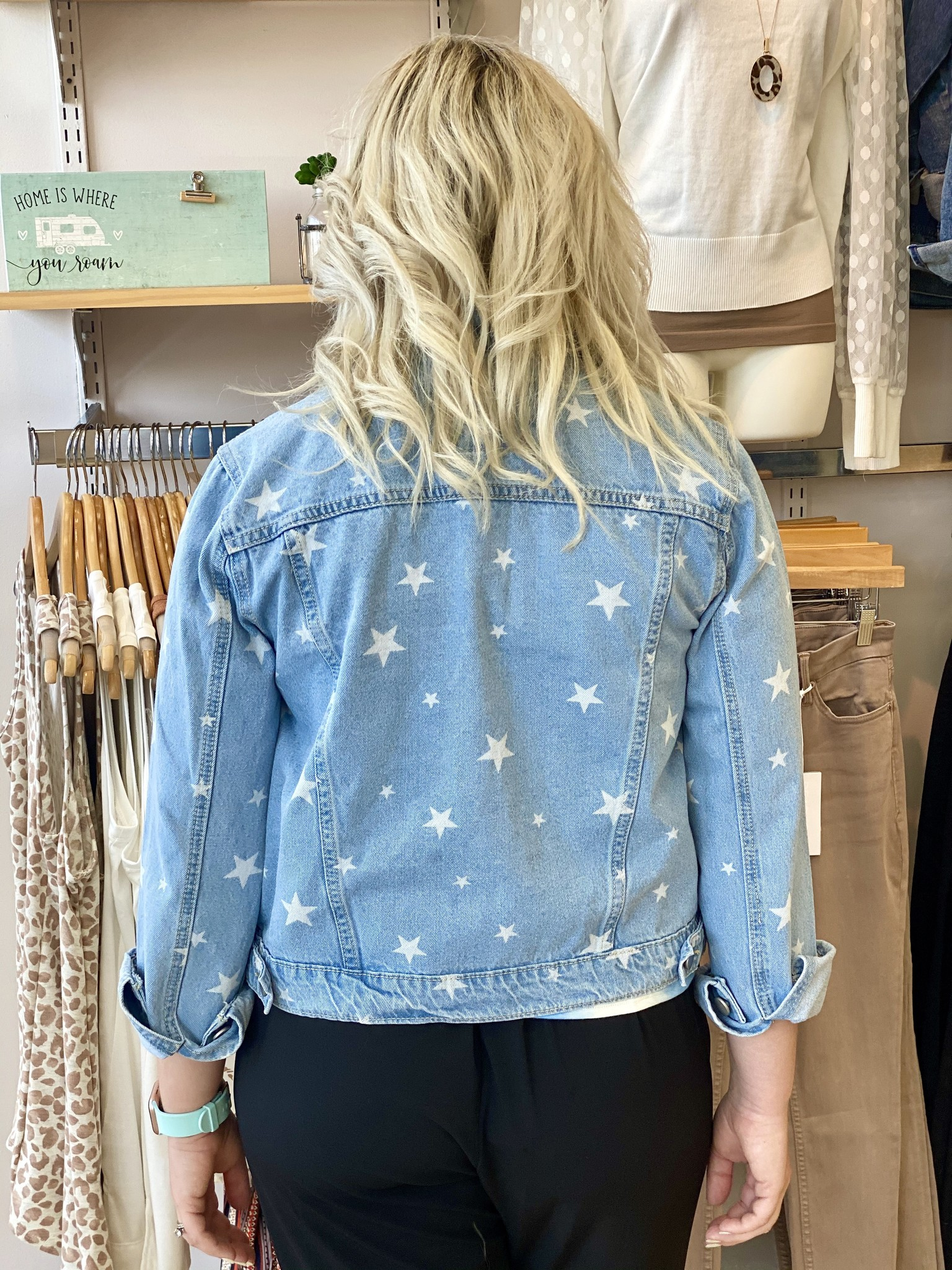 Hem & Thread Star Jean Jacket
