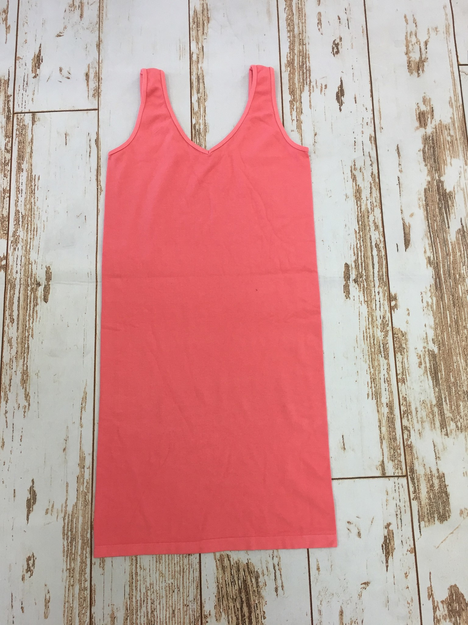 M Rena Tank Dress in Coral