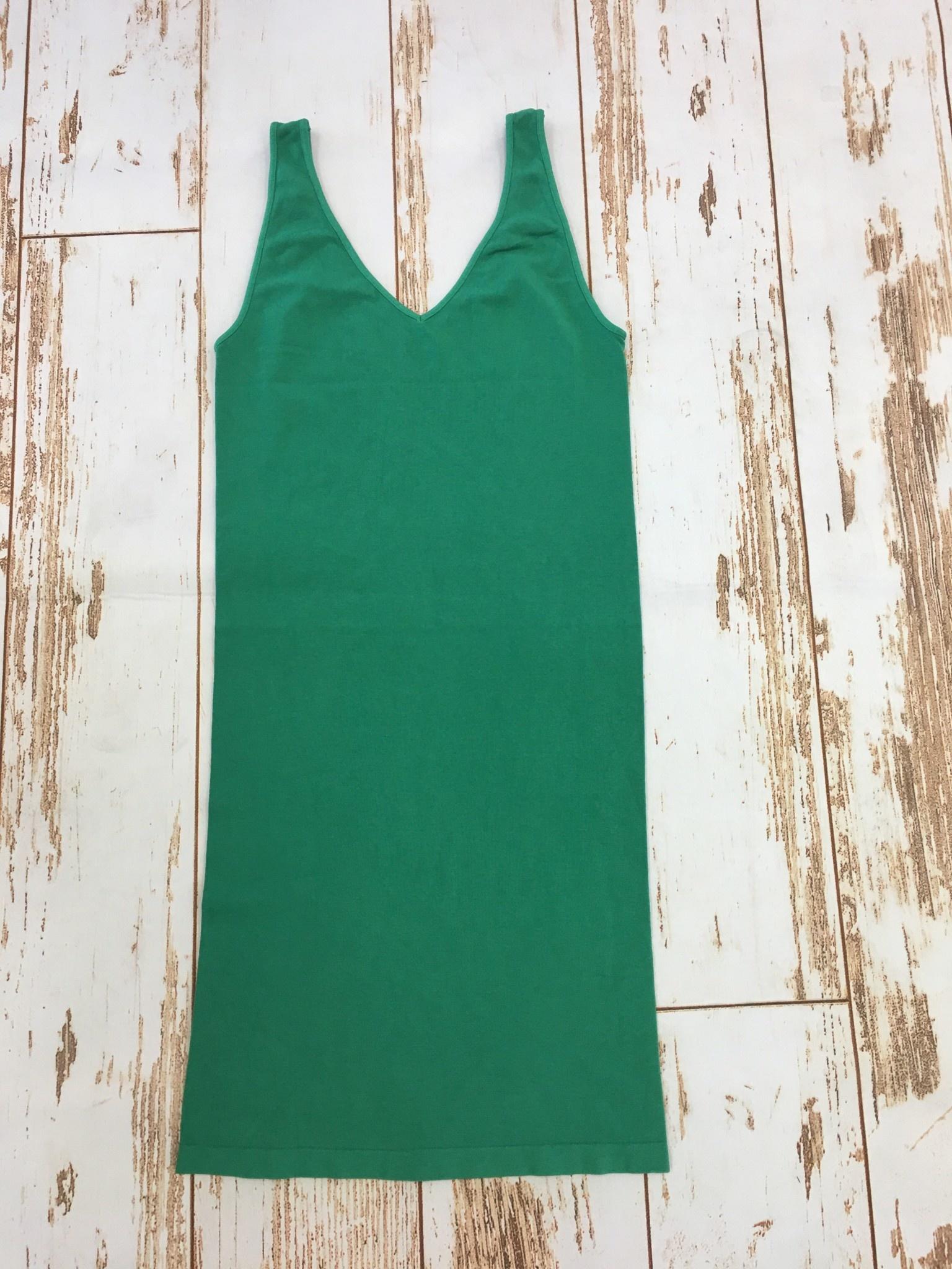 M Rena Tank Dress in Green