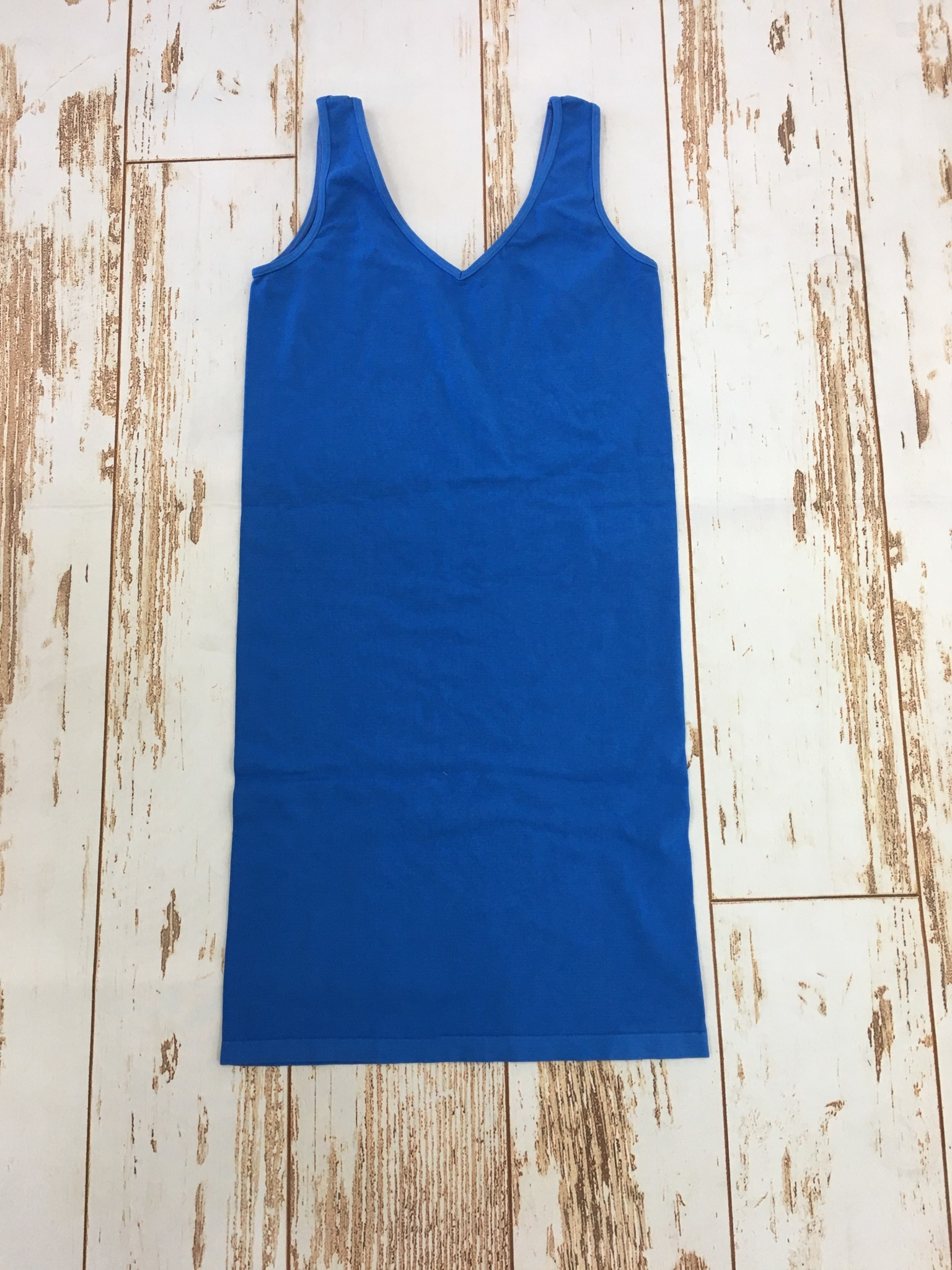 M Rena Tank Dress in French Blue