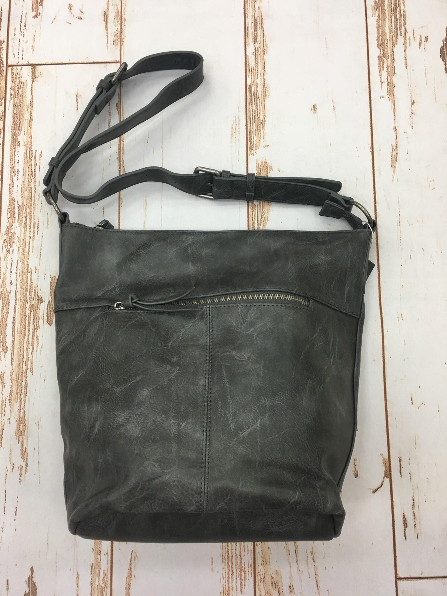 Joy Accessories Storm Grey Nori Crossbosy Bucket Bag