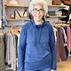 Karissa & Me Luxury Tri Blend Pocket Pullover in Navy