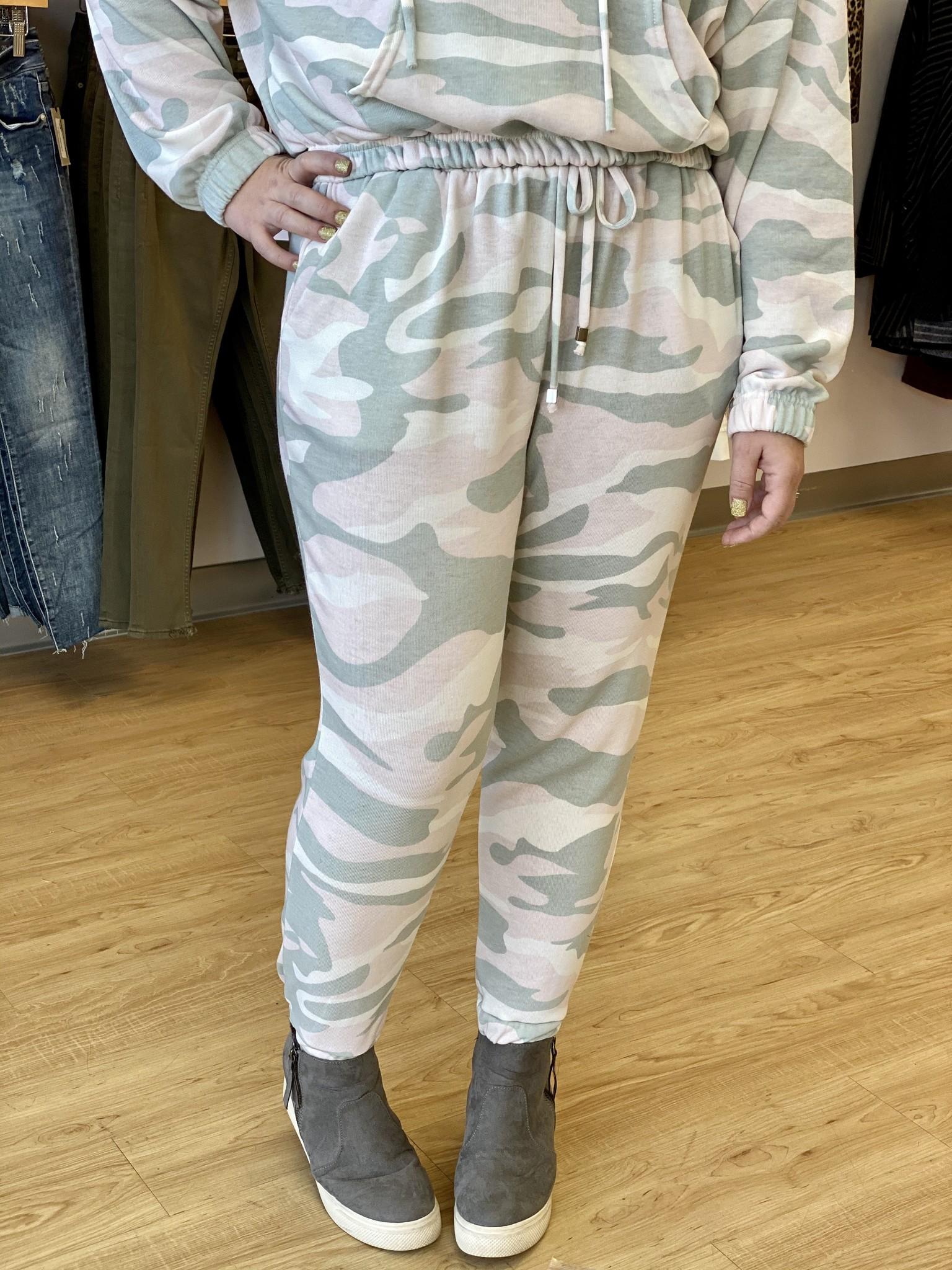 Ariella Pink Jogger Pants with Pockets