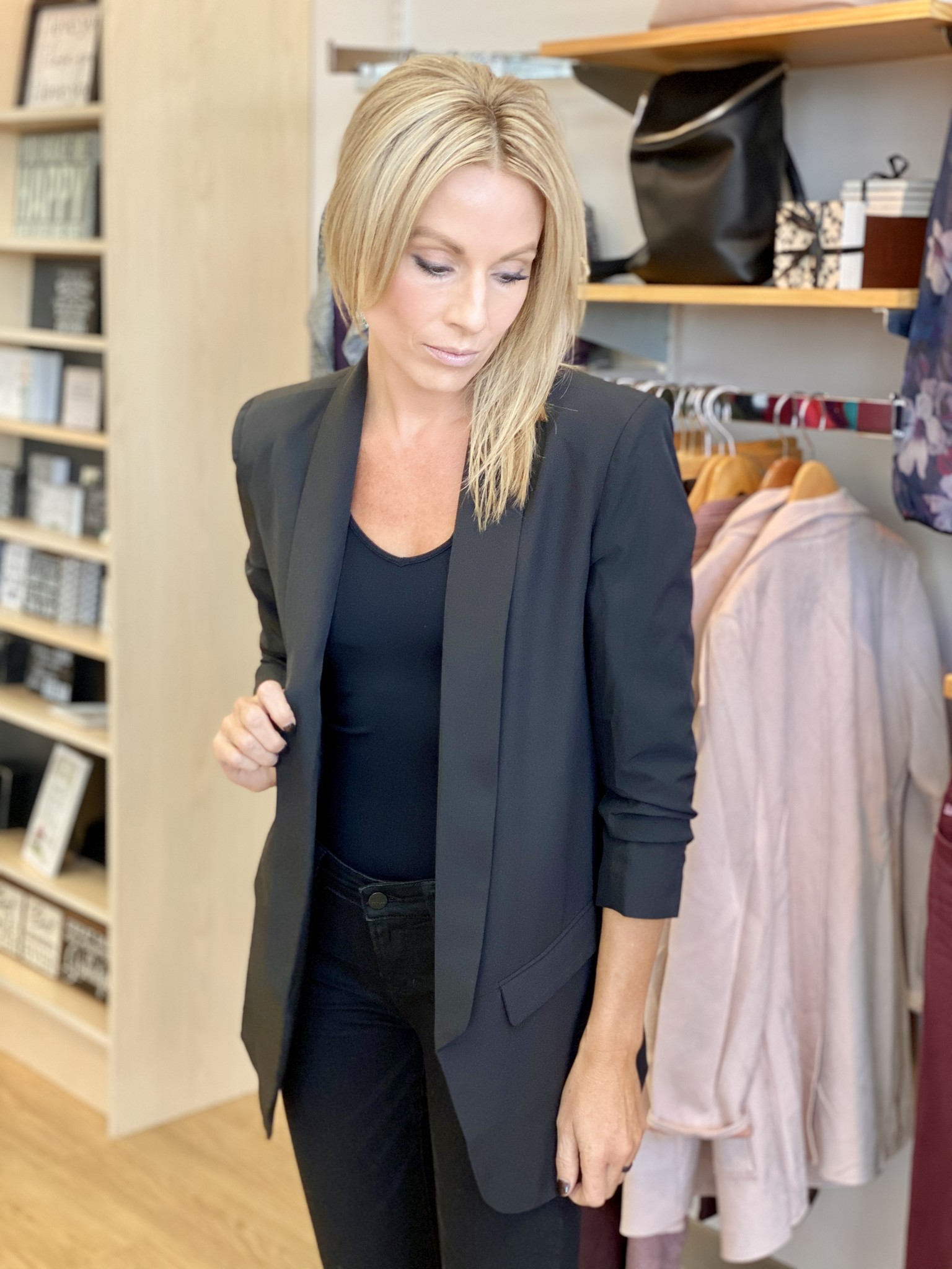 Fate & Fortune Black Business As Usual Blazer