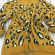 Hem & Thread Mock Neck Leopard Sweater