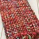 Panache Chunky Scarf in Pink Multi