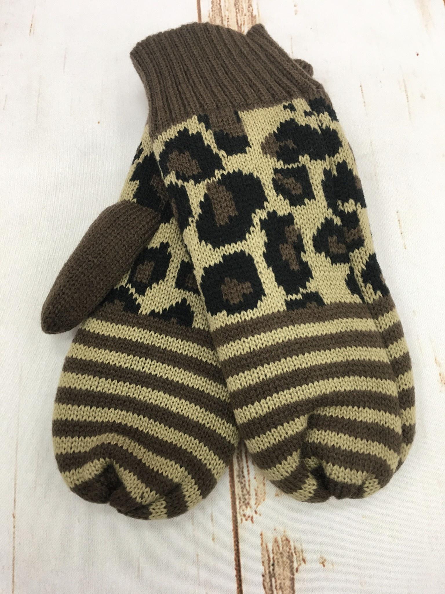 Panache Leopard Mitten