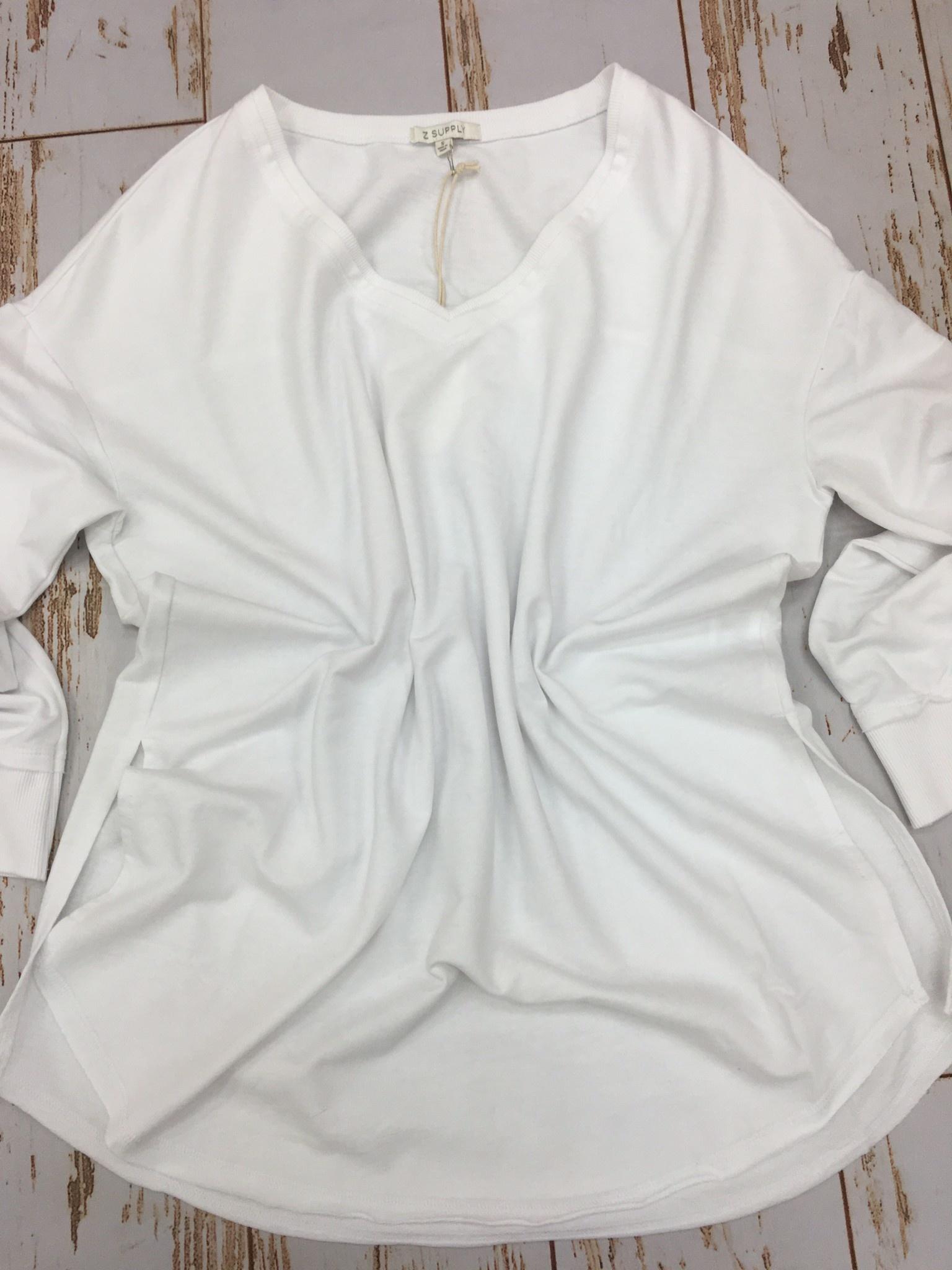 Z Supply V-Neck Weekender in White