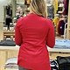 Active Basic Midweight Pocket Cardigan Red