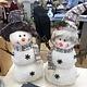 Hanna's Handiworks Cocoa Frost Snowman - 2 Assorted