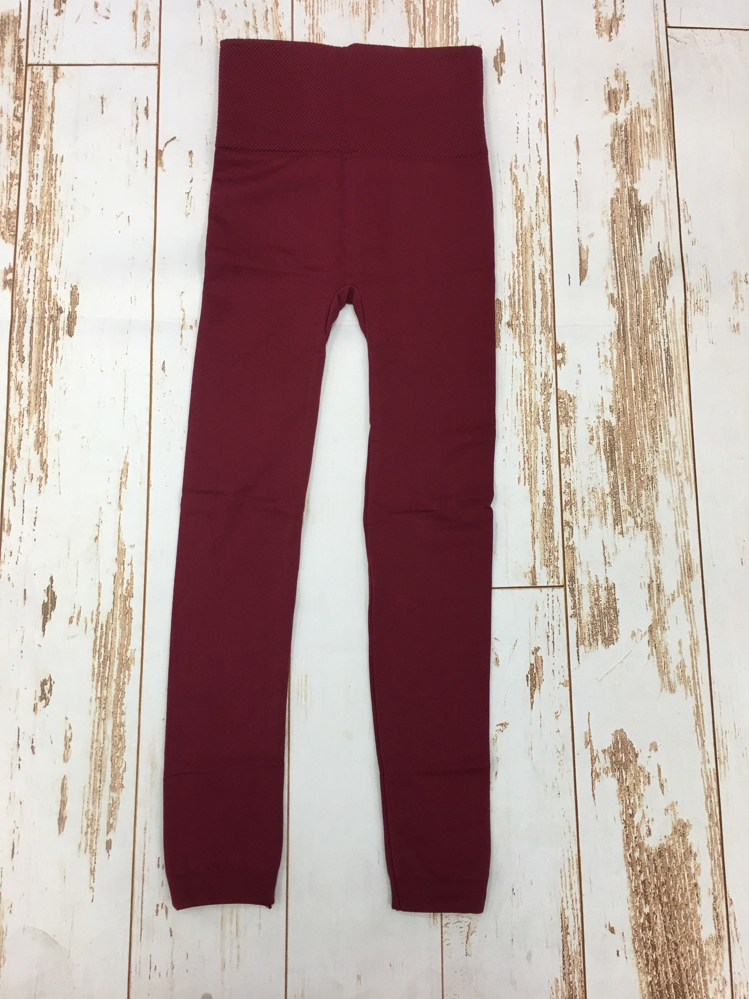 yelete Fleece Legging Wine Red