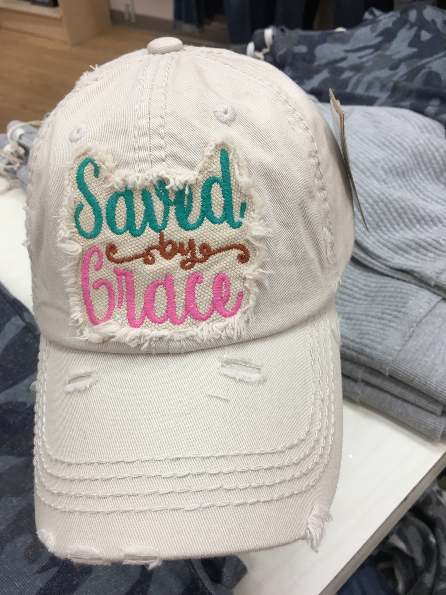 Saved by Grace Hat