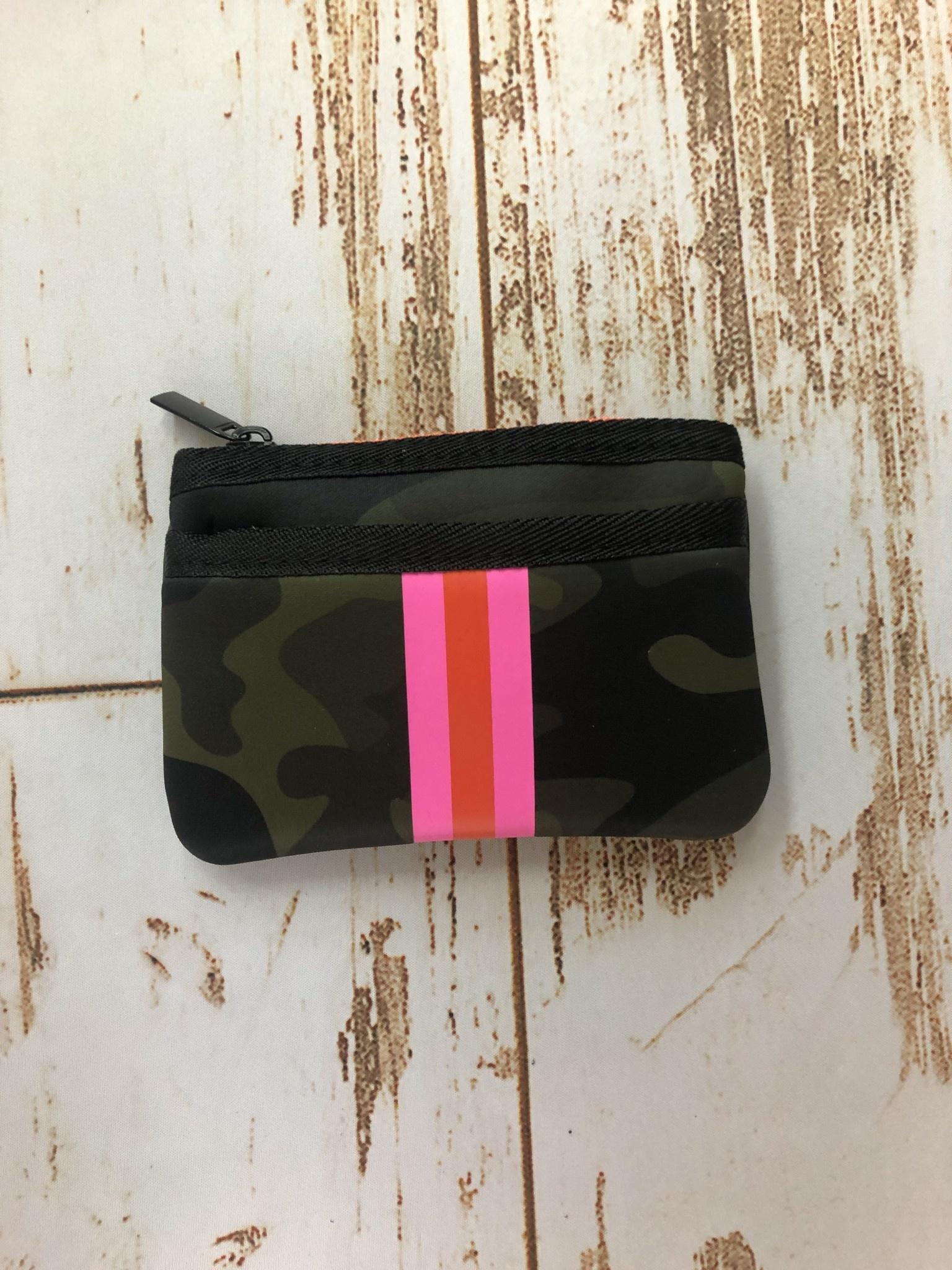 Haute Shore Ltd Max  Card Case Zip Pouch - Green Camo