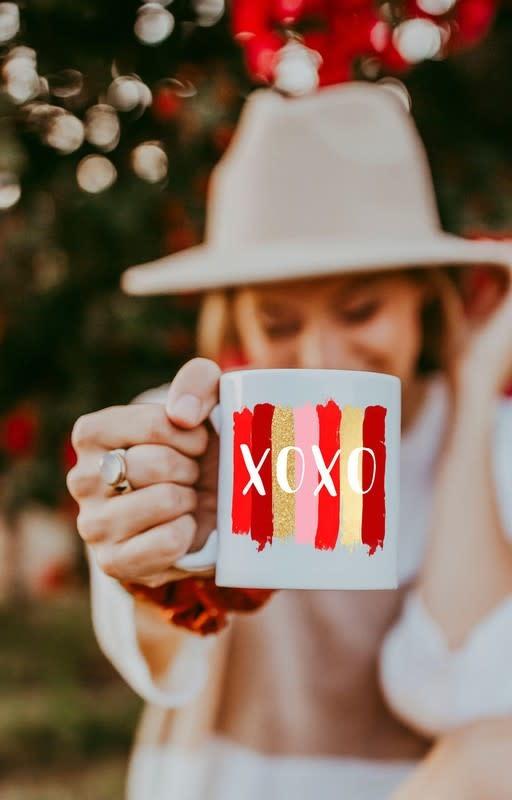 Matty + Lux XOXO Ceramic Mug