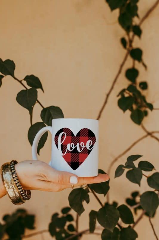 Matty + Lux Buffalo Plaid Ceramic Mug