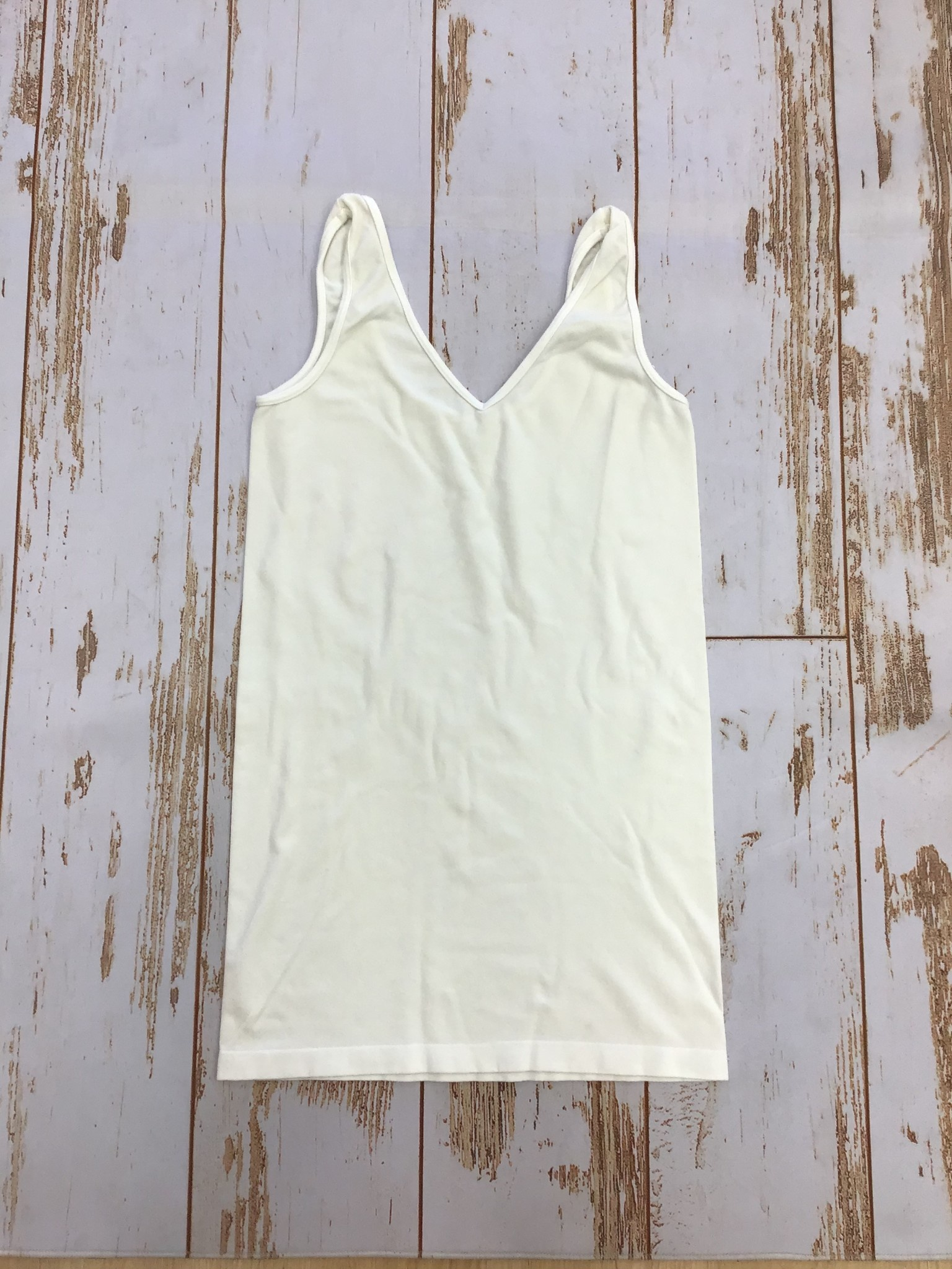 M.Rena Reversible Tank in Off White