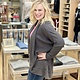 Ashley Clothing Long Waffle Cardigan in Charcoal