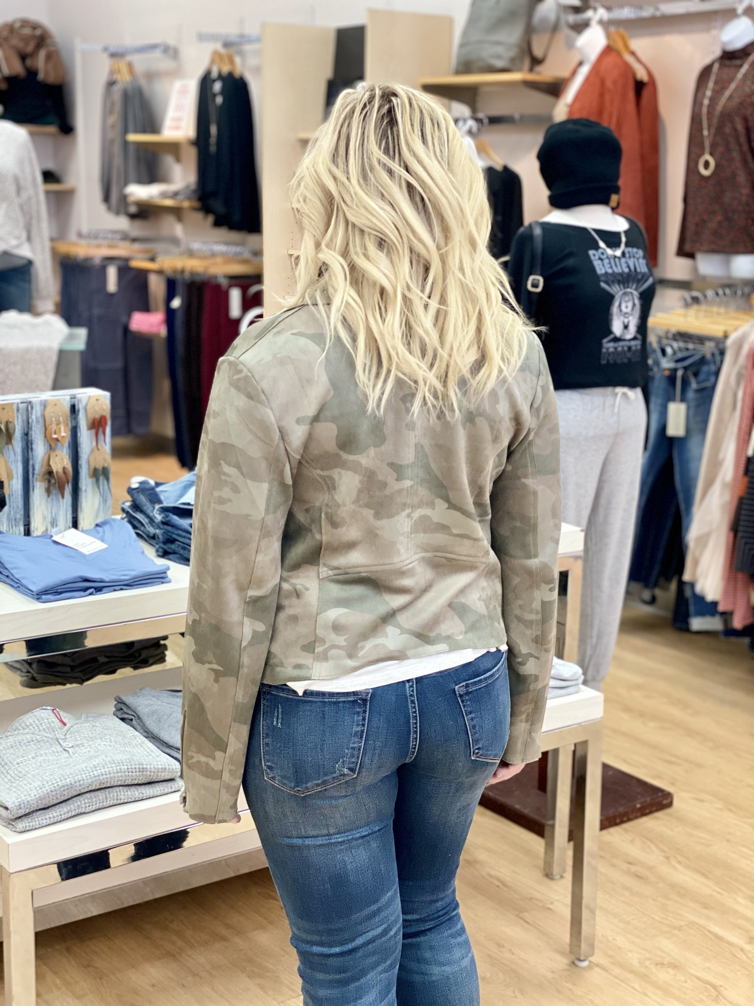 Fate & Fortune Best Ever Camo Jacket