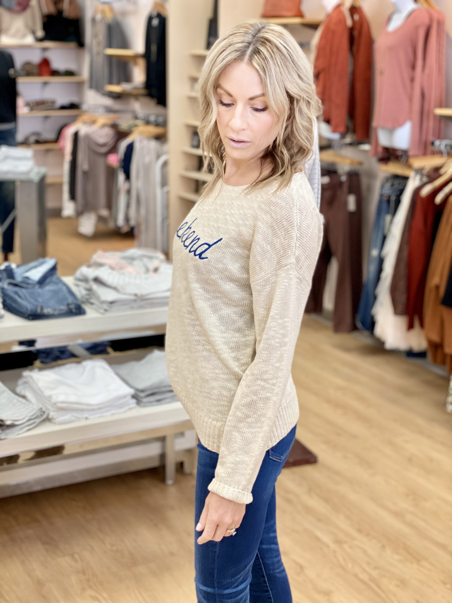 Hem & Thread Weekend Sweater