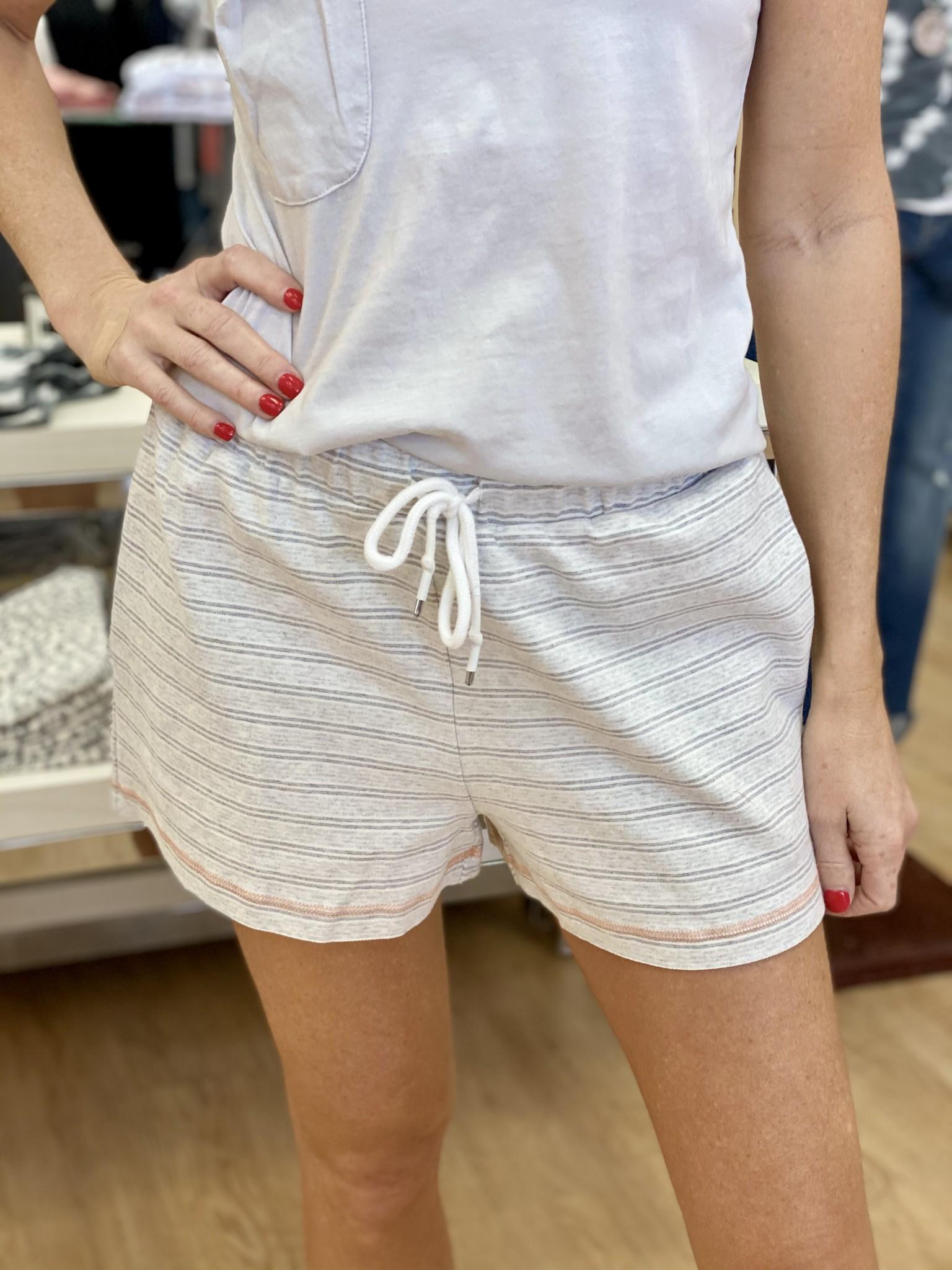 Hem & Thread Vintage Stripe Shorts