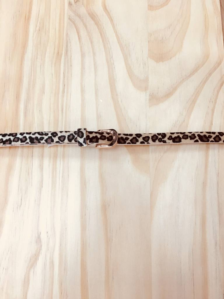 Annabelle Leopard Belt
