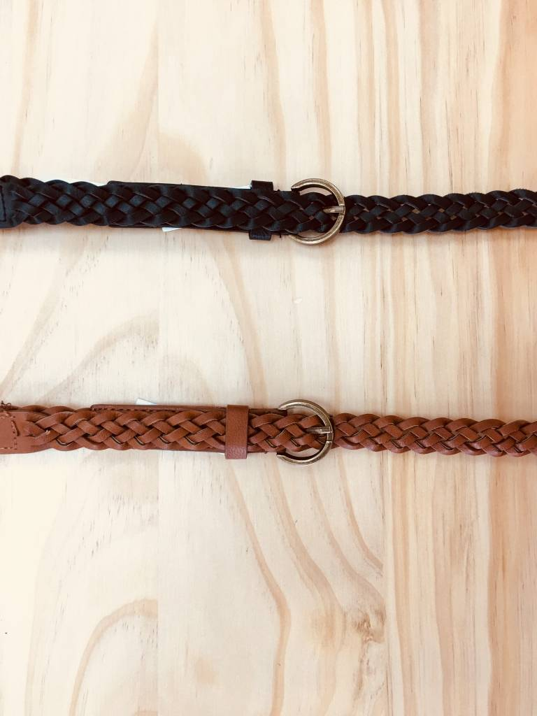 Downeast Braided Belt