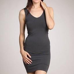 M.Rena Tank Dress Neutrals