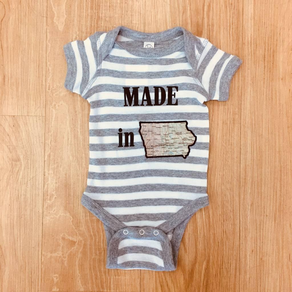 Made in Iowa Onsie