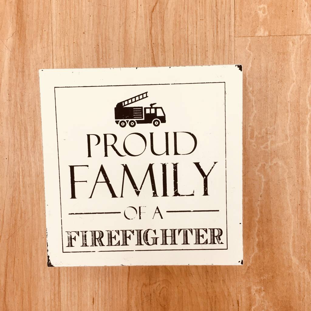 Adams Proud Family of a Firefighter