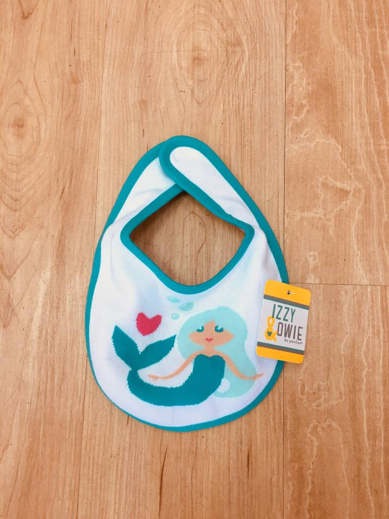 Izzy & Owie Mermaid Bib