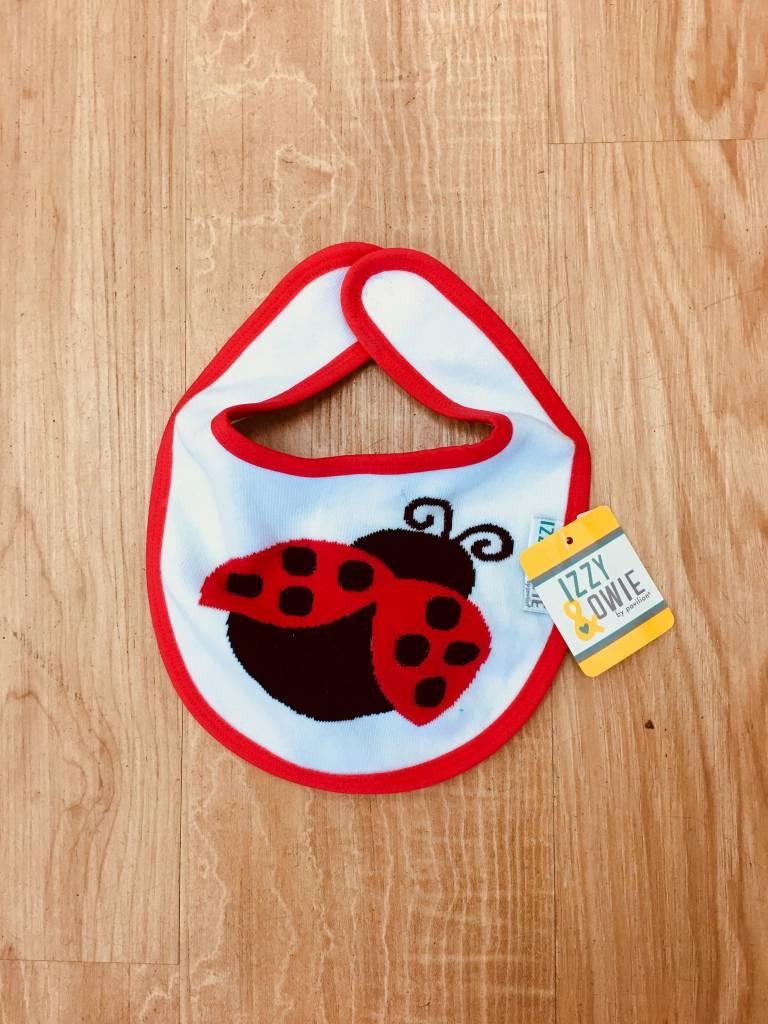 Izzy & Owie Ladybug Bib