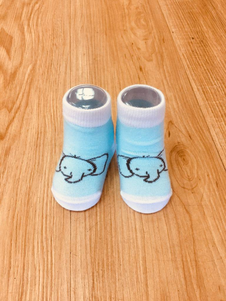 Izzy & Owie Infant Elephant Sock 0-3 M