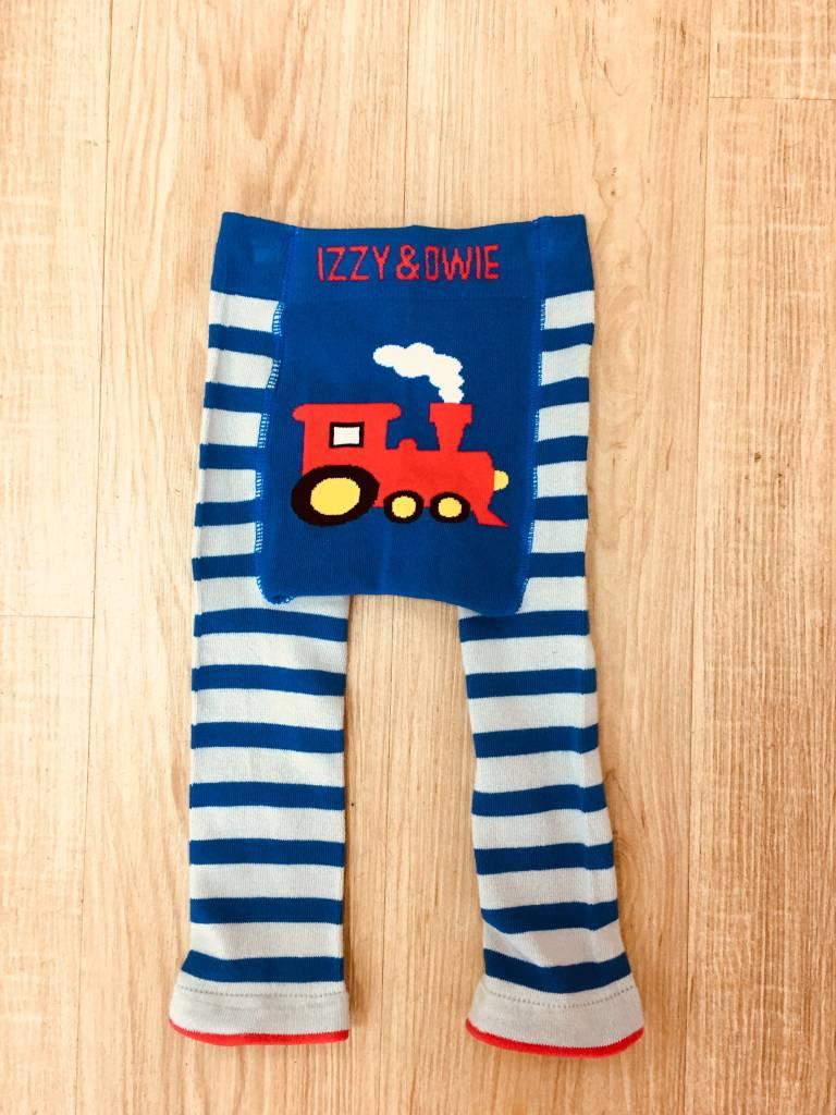Izzy & Owie Train Baby Legging