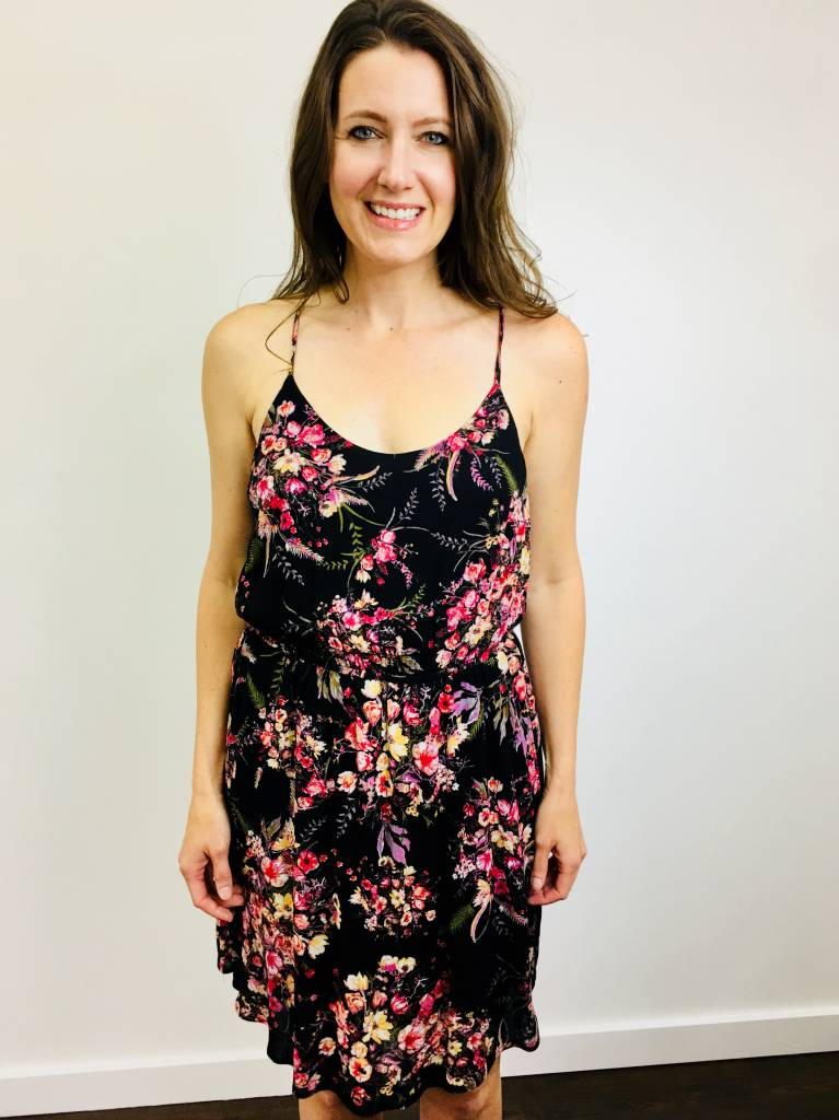 Staccato Halter Strap Dress