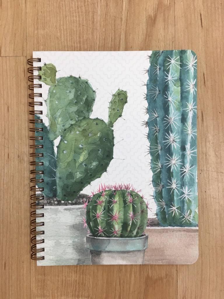 Legacy Medium Cactus Spiral Notebook