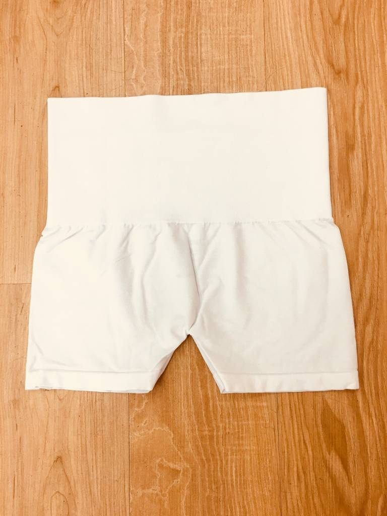 M Rena Control Top Short White