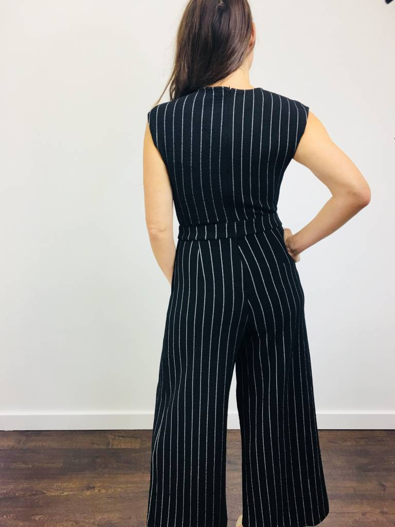 Papillon Stripe Jumpsuit