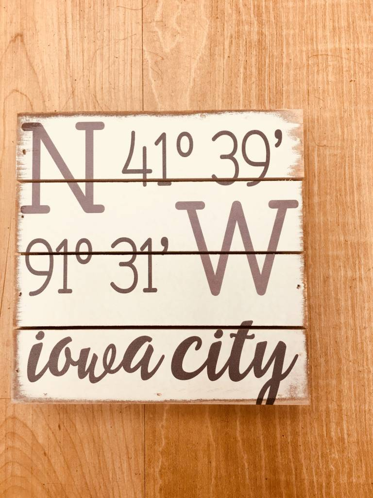 Sincere Surroundings Iowa City, IA Coordinates