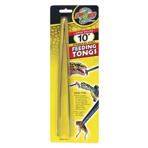 Zoo Med Stainless Reptile Feeding Tongs