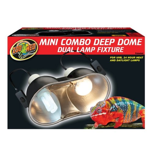 Zoo Med Mini Deep Dome Combo Fixture