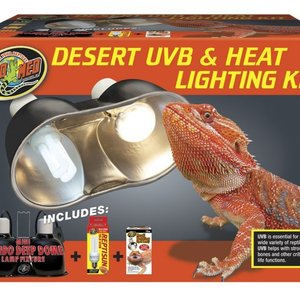 Zoo Med Zoo Med Desert UVB & Heat Lighting Kit