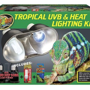 Zoo Med Zoo Med Tropical UVB & Heat Lighting Kit