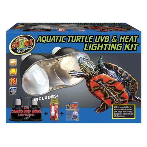 Zoo Med Zoo Med Turtle UVB & Heat Lighting Kit