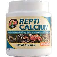 Zoo Med Calcium without D3
